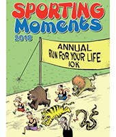 Sporting Moments Humorous Wall Calendar