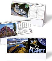 C72 Wild Planet Desk Reeve Advertising Calendar