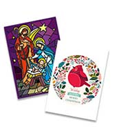 Classic personalised christmas cards