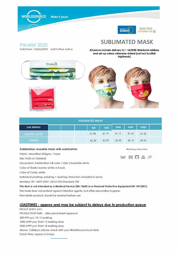 cheap personalised face masks